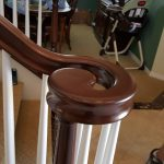 After: Staircase refinishing